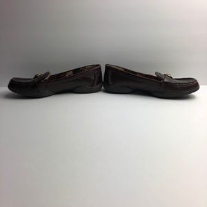 Anne Klein Shoes - Anne Klein Iflex Leather Slip On Loafers Shoes EUC